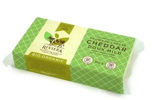 Riviera - Fromage cheddar doux bio