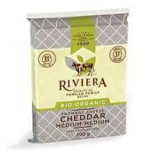 Riviera - Fromage cheddar medium bio